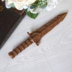 """Фигура шоколадная """"Кинжал малый 26 см"""""""