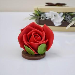 """фигура шоколадная """"Роза"""""""