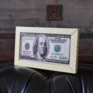 """плитка шоколадная """"Пачка денег"""""""