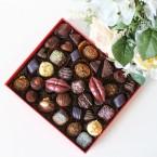 Набор конфет ручной работы с поцелуями