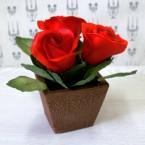 """Букет из сахарных цветов """"Розы"""" 14 см, 390 гр."""