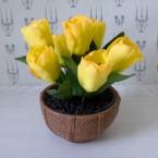 "Букет из сахарных цветов ""Тюльпаны"" 15 см, 430 гр"