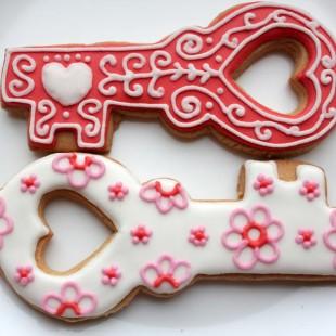 печенье ключ к сердцу
