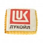 Печенье с логотипом сдобное